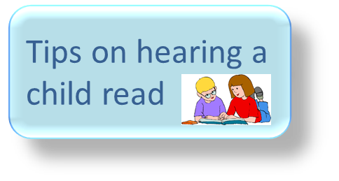 Tips on hearing a child read